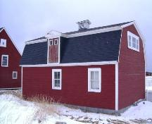 Exterior photo of Mockbeggar Barn and Workshop located on Mockbeggar Plantation, Bonavista, NL.; Department of Tourism, Culture and Recreation 2005