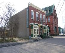 9/11 Church Street, Annapolis Royal, N.S., north east elevation,2005.; Heritage Division, NS Dept. of Tourism, Culture and Heritage, 2005