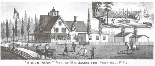 Residence of Mr. James Yeo at Port Hill