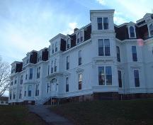 North view, Acadia Seminary, Wolfville, NS, 2005.; Heritage Division, NS Dept. of Tourism, Culture and Heritage, 2005