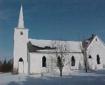 Showing side elevation in winter; Province of PEI, Natalie Munn, 2004