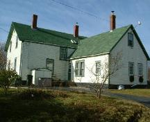 Rear (east) elevation of Yarmouth's First Hospital, Yarmouth, NS, 2006.; Heritage Division, NS Dept. of Tourism, Culture and Heritage, 2006
