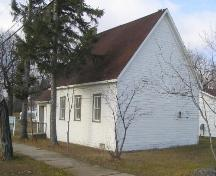 Rear Elevation of St. Alban's Anglican Church; Government of Saskatchewan, Michael Thome, 2005.