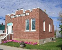 Front elevation, 2004.; Government of Saskatchewan, Jennifer Bisson, 2004.