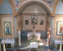 view of the sanctuary, 2005.; Government of Saskatchewan, J. Kasperski, 2005.