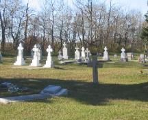 view of the cemetery, 2005.; Government of Saskatchewan, J. Kasperski, 2005.