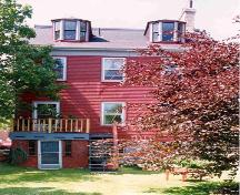 Story-Wilson House, rear elevation, Halifax, Nova Scotia, 2004.; HRM Planning and Development Services, Heritage Property Program, 2004.