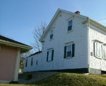 Looking from the northwest at the James Jenkins, Jr. House, Yarmouth, NS, 2006.; Heritage Division, NS Dept. of Tourism, Culture and Heritage, 2006