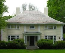 Front elevation, Girvan Bank-Runciman House, Annapolis Royal, NS, 2005.; Heritage Division, NS Dept. of Tourism, Culture and Heritage, 2005.