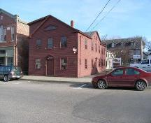 230 St. George Street, Annapolis Royal, N.S., South West Elevation, 2005.; Heritage Division, NS Dept. of Tourism, Culture and Heritage, 2005