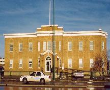 Front Exterior View of Immigration Hall; City of Prince Albert, Doug Charrett, 2005.