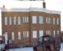 Rear Exterior View of Immigration Hall; City of Prince Albert, Doug Charrett, 2005.