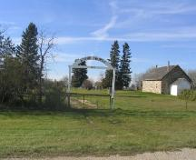 Stone Church from main entrance; Government of Saskatchewan, J. Kasperski, 2005.
