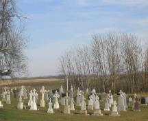 View of cemetery, 2005.; Government of Saskatchewan, J. Kasperski, 2005.
