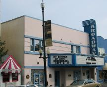 Front façade of the Broadway Theatre, 2005.; City of Saskatoon, Kathlyn Szalasznyj, 2005.