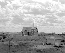 St. Edmund's Anglican Church Provincial Historic Resource, Big Valley (1977); Provincial Archives of Alberta, J.3377/1