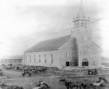 St. Jean Baptiste Church Provincial Historic Resource, Morinville (1927); Provincial Archives of Alberta, A.1927