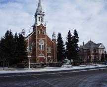 St. Jean Baptiste Church and Rectory Provincial Historic Resource, Morinville (February 2001) ; Alberta Culture and Community Spirit, Historic Resources Management Branch, 2001