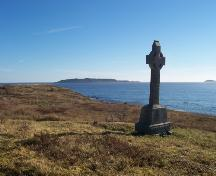 View from southeast corner of Old Cemetery overlooking the harbour in Witless Bay, NL. Photo taken November, 2005.; HFNL / Dale Jarvis 2005
