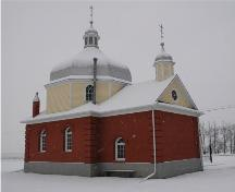 Ukrainian Greek Orthodox Church of St. Mary (Szypenitz District) Provincial Historic Resource (January 2006); Alberta Culture and Community Spirit, Historic Resources Management Branch, 2006