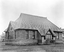 Haultain School, formerly South Ward School, Calgary (circa 1913); Glenbow Archives, NA-613-1