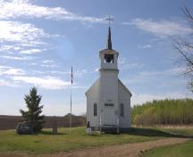 The Catholic Church of St. Thomas Provincial Historic Resource, near Duhamel (May 2002); Alberta Culture and Community Spirit, Historic Resources Management Branch, 2002
