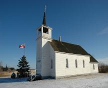 The Catholic Church of St. Thomas Provincial Historic Resource, near Duhamel (January 2006); Alberta Culture and Community Spirit, Historic Resources Management Branch,2006