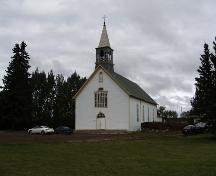 Notre Dame de Lourdes (Our Lady of Lourdes) Roman Catholic Church Provincial Historic Resource, Fort Saskatchewan; Alberta Culture and Community Spirit, Historic Resources Management Branch