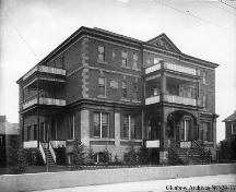 Young Women's Christian Association (Y.W.C.A.) Building, Calgary (circa 1911); Glenbow Archives, NC-24-13