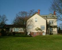 The back of the  Stayley Brown House, Yarmouth, NS, 2006.; Heritage Division, NS Dept. of Tourism, Culture & Heritage, 2006