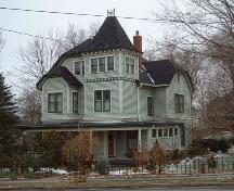 Front facade, Miss Baxter's House, Wolfville, NS, 2006.; Heritage Division, NS Dept. of Tourism, Culture and Heritage, 2006