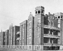 The Devenish Apartments Provincial Historic Resource, Calgary (circa 1911); Glenbow Archives, NA-3918-3