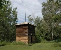 Fort Ethier Provincial Historic Resource, near Wetaskiwin (August 2005); Alberta Culture and Community Spirit, Historic Resources Management Branch, 2005