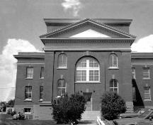 Wetaskiwin Courthouse Provincial Historic Resource (date unknown); Provincial Archives of Alberta, A.13163
