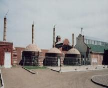 View of Medalta Potteries Provincial Historic Resource from the northwest (March 2005); Alberta Culture and Community Spirit, Historic Resources Management Branch, 2005