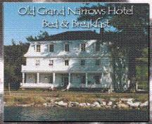 Front elevation Old Grand Narrows Hotel, Grand Narrows, NS, ca. 2000.; Courtesy of owners.