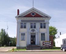 The Canadian Bank of Commerce Building Provincial Historic Resource, Innisfree (June 2001); Alberta Culture and Community Spirit, Historic Resources Management Branch, 2001