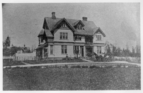 Major William Weeks House, 1898