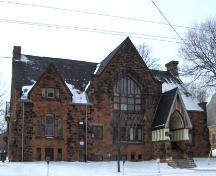 Showing east elevation; City of Charlottetown, Natalie Munn, 2006