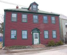 Bailey House, Annapolis Royal, NS, front elevation, 2005.; Heritage Division, NS Dept. of Tourism, Culture and Heritage, 2005