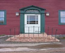 Bailey House, Annapolis Royal, NS, front entrance, 2005.; Heritage Division, NS Dept. of Tourism, Culture and Heritage, 2005
