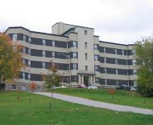 A current photo of the Hospital with changes to the exterior.; City of Bathurst