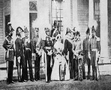 HRH the Prince of Wales Visit, 1860; William Chase / Library and Archives Canada / C-01271