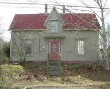 The façade of the Richard Williams Jr. House, Milton Highlands, Yarmouth County, NS, 2006.; Heritage Division, NS Dept. of Tourism, Culture & Heritage, 2006