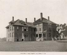 Showing south east elevation; W.S. Louson photograph, early 1900s