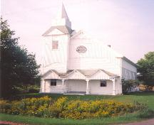 Showing south elevation; Little Sands United Church, 2005