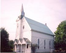 Showing south east elevation; Little Sands United Church, 2005