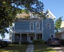 Showing east elevation; City of Charlottetown, Natalie Munn, 2005