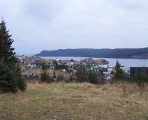 View from Midnight Hill overlooking Renews Harbour, NL. Photo taken December, 2005; HFNL/Andrea O'Brien 2005