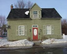 William Anderson House, front elevation, 2005.; City of Miramichi